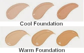 cool or warm foundation